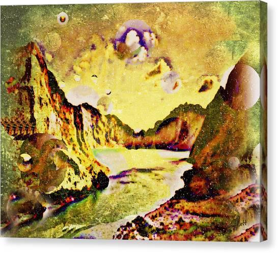 Peaceful Secret Canvas Print