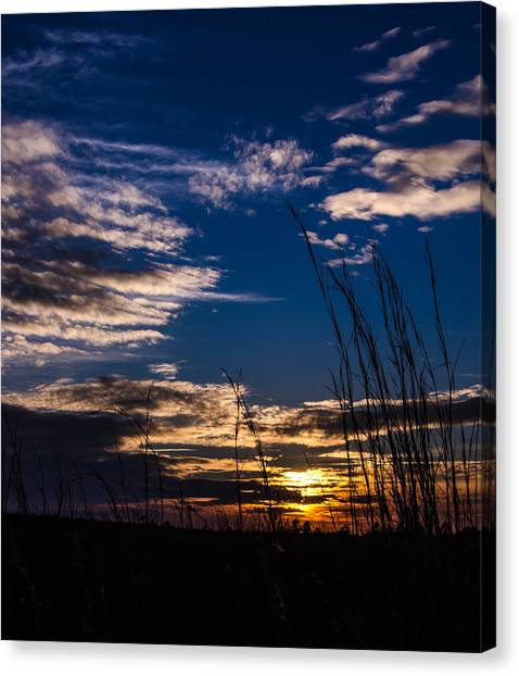 Peaceful Sunset Canvas Print