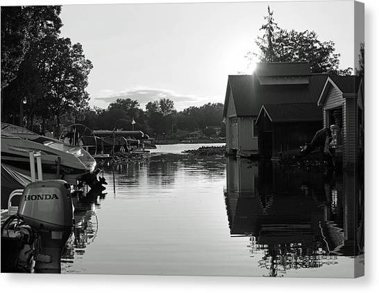 Peaceful Canvas Print by Thomas Fouch