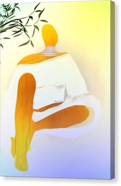 Peacefulchic Canvas Print