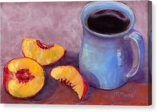 Peach Break Canvas Print