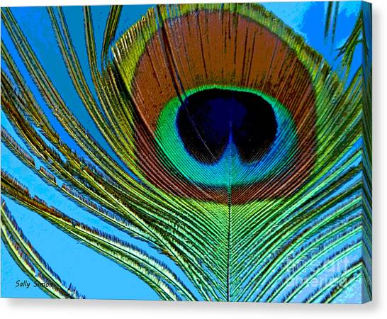 Peacock Feather 3 Canvas Print
