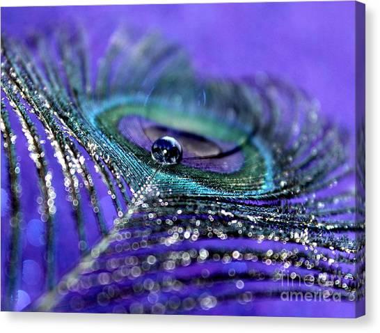 Peacock Spirit Canvas Print