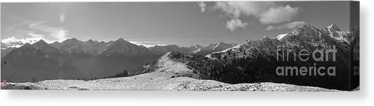 Peaks Canvas Print by Marco Affini