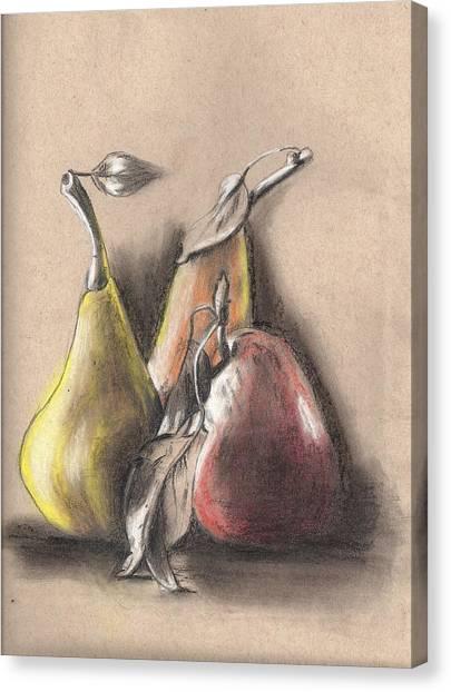 Pear2 Canvas Print