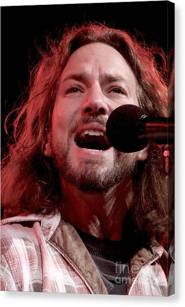 Pearl Jam Canvas Print - Pearl Jam by Concert Photos