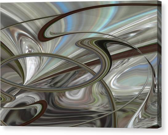 Pearl Swirl Canvas Print