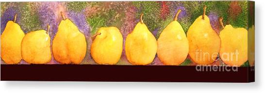 Pears Canvas Print by Gwen Nichols