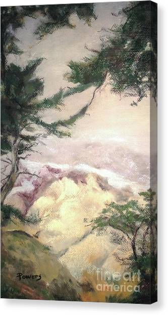 Pebble Beach Vista Canvas Print