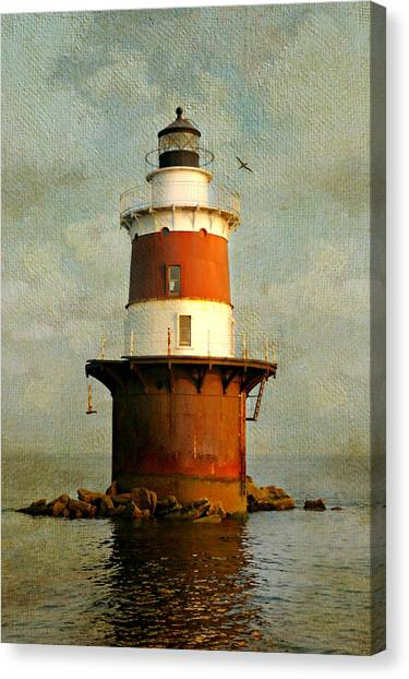 Peck's Ledge  Canvas Print