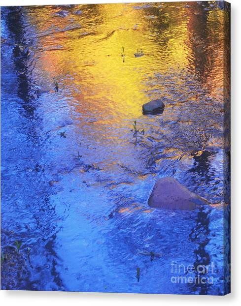 Pecos Reflection Canvas Print