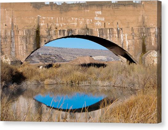 Pecos River Flume Canvas Print