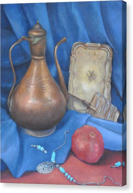 Peculiar Objects Canvas Print