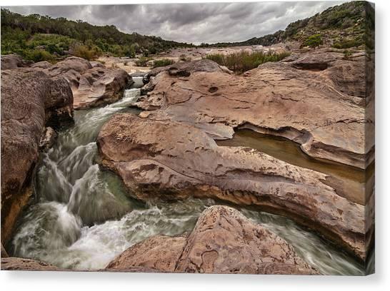 Pedernales Falls Canvas Print