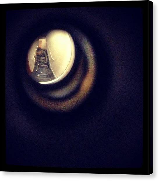 Ghostbusters Canvas Print - Peep Hole #ghostbusters by Whitney Robinson
