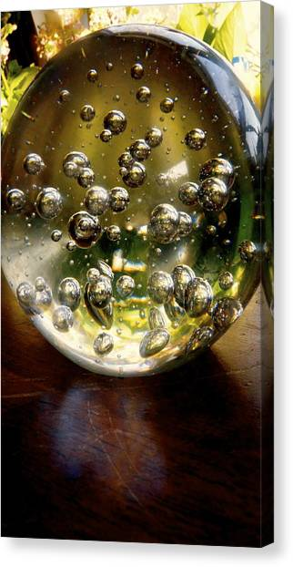 Peering Into The Universe Canvas Print by Danielle  Broussard