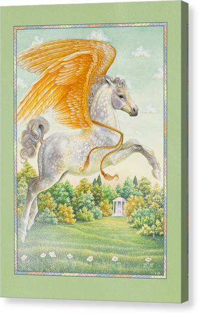 Pegasus Canvas Print - Pegasus by Lynn Bywaters