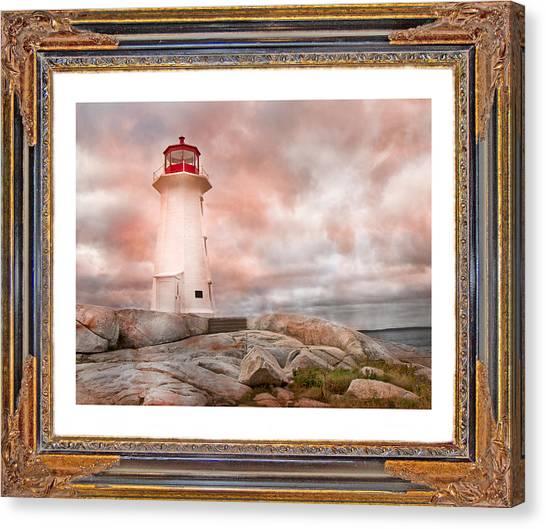 Nova Scotia Canvas Print - Peggy's Beauty by Betsy Knapp