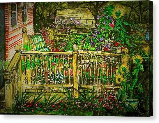 Peggy's Paradise Canvas Print