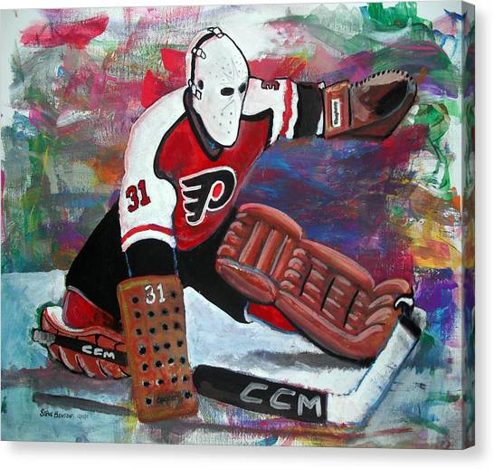 Flyer Canvas Print - Pelle Lindbergh by Steve Benton