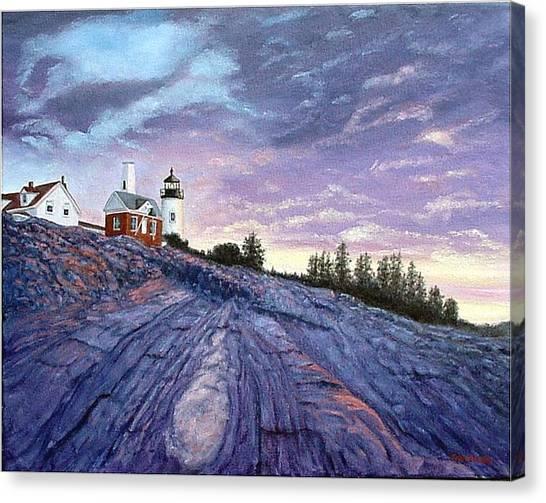 Pemaquid Point Dawn Canvas Print