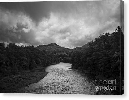 Pemigewasset River Nh Canvas Print