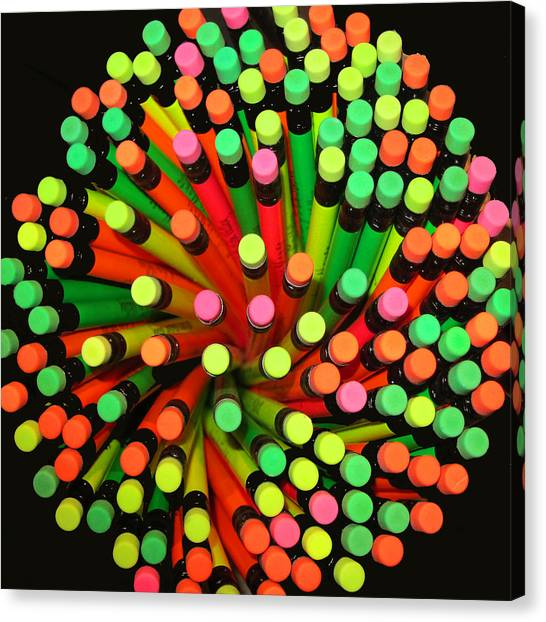 Canvas Print featuring the photograph Pencil Blossom by Rick Locke