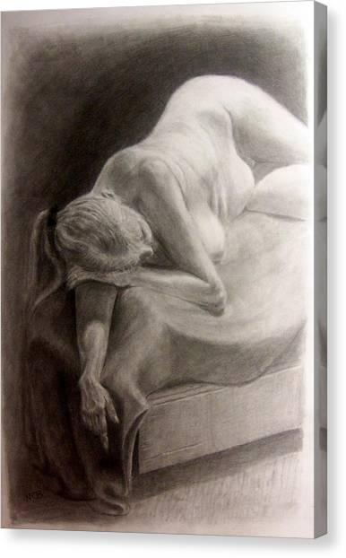 Pencil Study Canvas Print