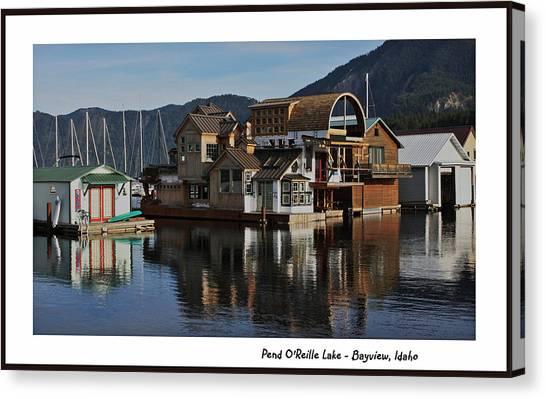Pend O'reille Lake 2 Canvas Print