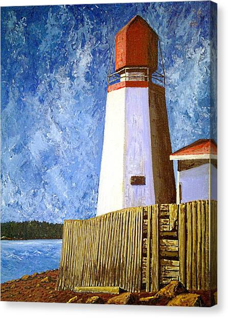 Pendlebury Lighthouse Canvas Print