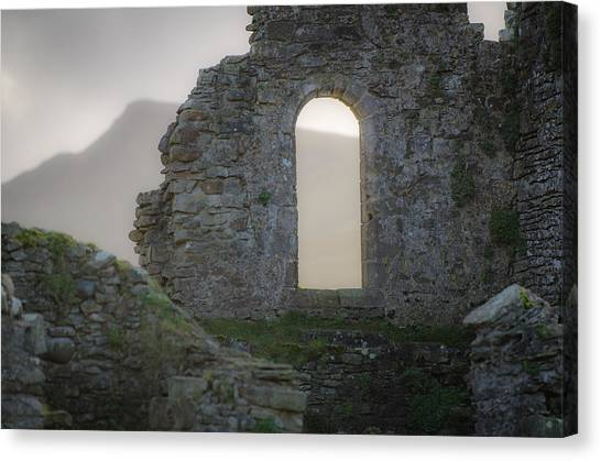 King Aurthur Canvas Print - Pendragon View by Roger Clifford