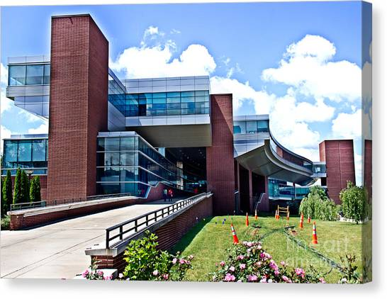 Pennsylvania State University Canvas Print - Penn State Its Building by Tom Gari Gallery-Three-Photography