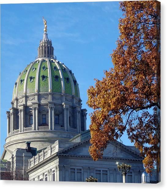 Pennsylvania Capitol Building Canvas Print