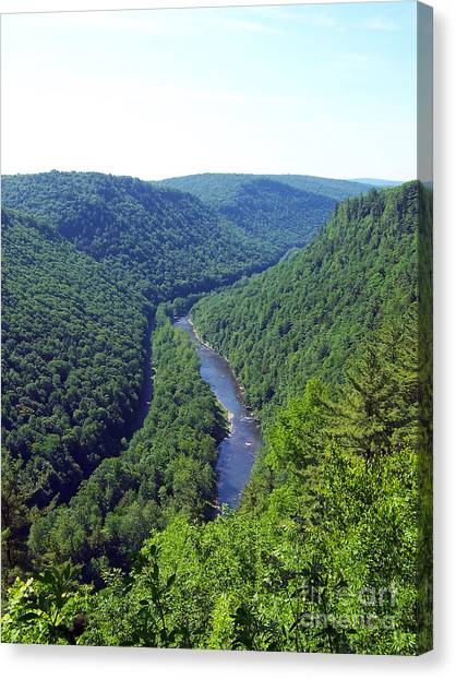 Pennsylvania Grand Canyon 3 Canvas Print
