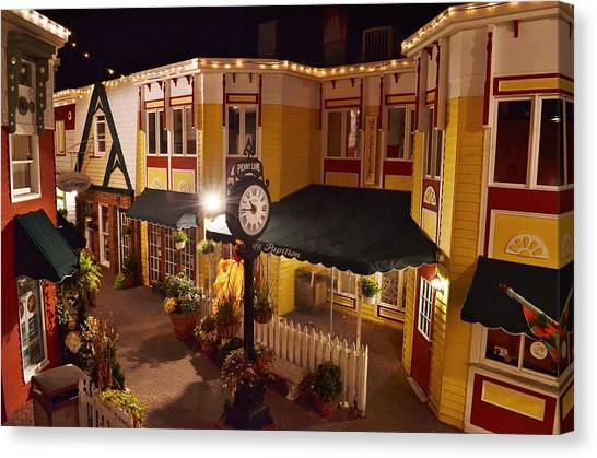 Canvas Print featuring the photograph 2-penny Lane - Rehoboth Beach Delaware by Kim Bemis
