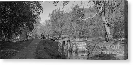 Pennyfield Lock Chesapeake And Ohio Canal Canvas Print