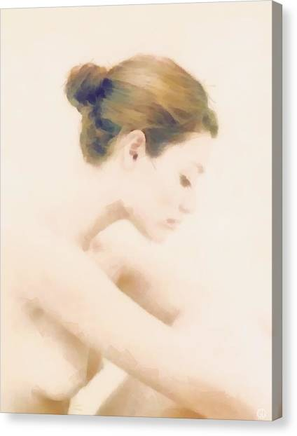 Profile Canvas Print - Pensive by Gun Legler