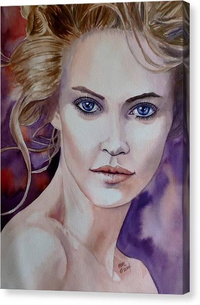Raw Beauty Canvas Print