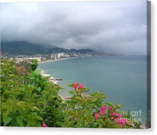 Penthouse View - Puerto Vallarta Canvas Print