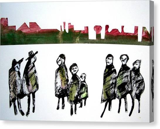 People 120913-5 Canvas Print by Aquira Kusume