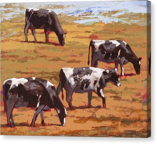 Cow Canvas Print - People Like Cows #10 by David Palmer