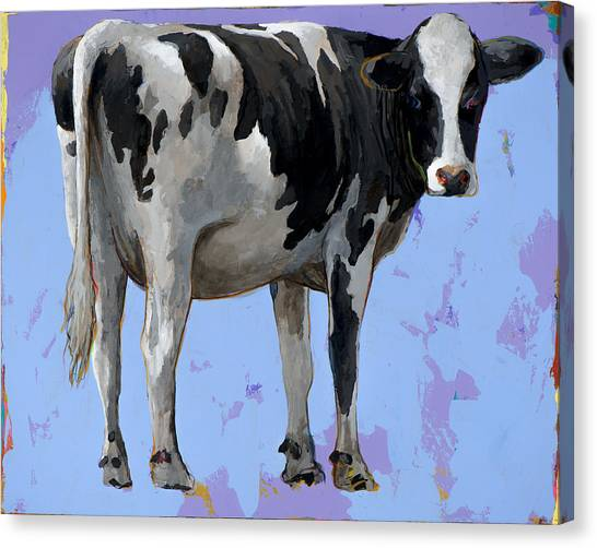 Cow Farms Canvas Print - People Like Cows #11 by David Palmer