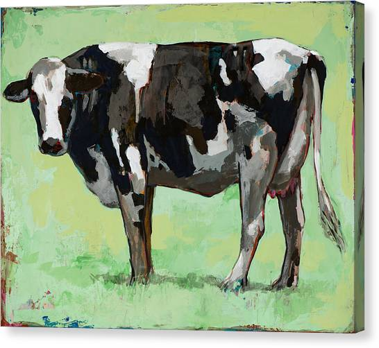 Cow Canvas Print - People Like Cows #5 by David Palmer
