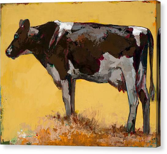 Farm Animals Canvas Print - People Like Cows #6 by David Palmer