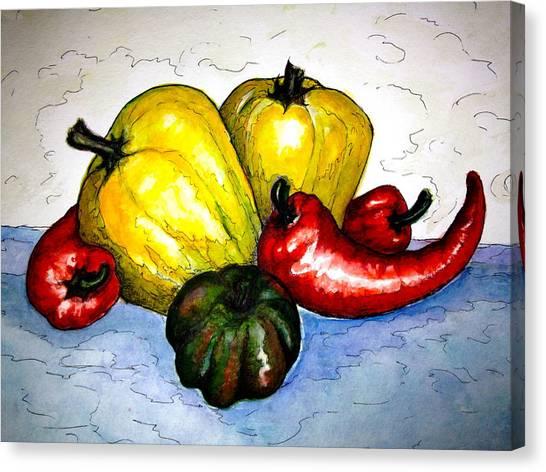 Pepper Diversity Canvas Print