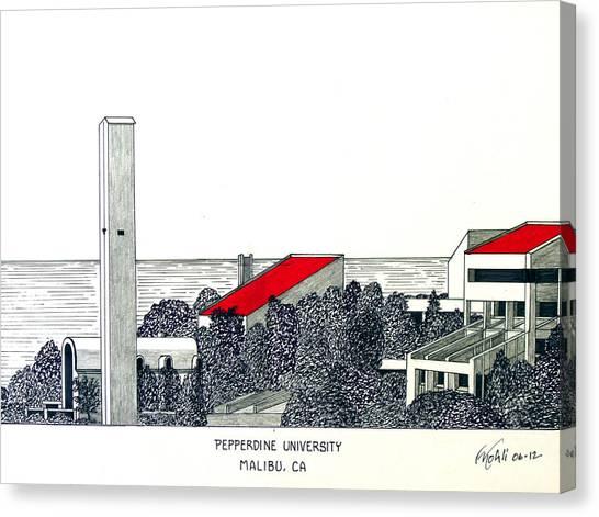Pepperdine University Canvas Print