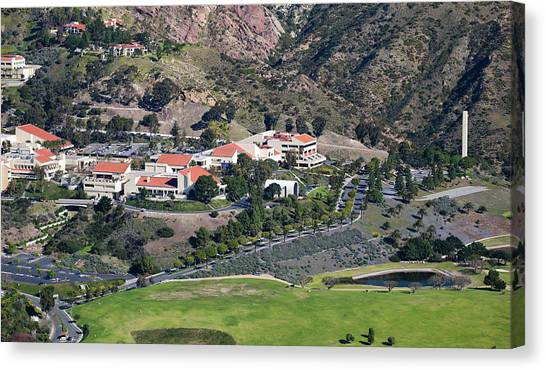 Canvas Print - Pepperdine University On A Hill by Panoramic Images