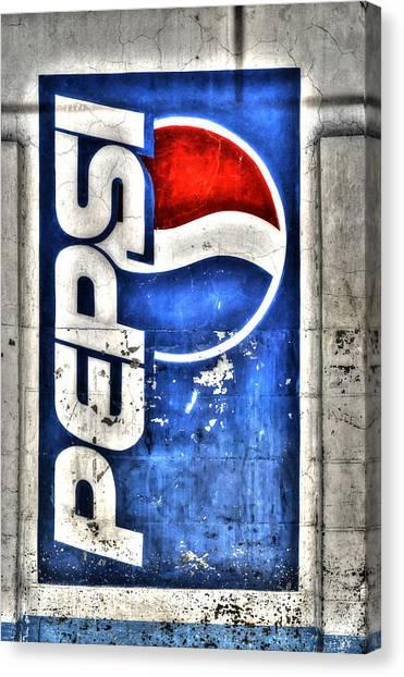 Pepsi Ala Puebla Canvas Print
