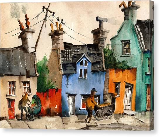 Dilapidation Canvas Print - Is This Your Life  by Val Byrne