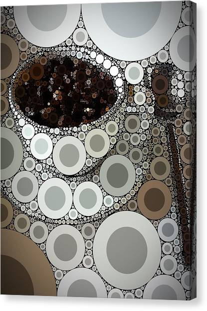 Coffee Shops Canvas Print - Percolated by Aaron Aldrich